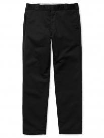 Carhartt WIP Master Pant (black rinsed)