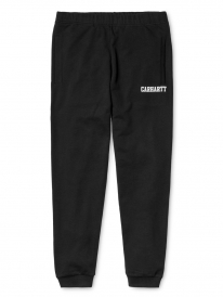 Carhartt WIP College Sweat Pant (black/white)