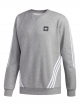 Adidas Insley Sweater (core heather/white)