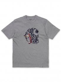 Carhartt WIP Tape T-Shirt (grey heather)