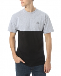 Vans Colorblock T-Shirt (black/athletic heather)