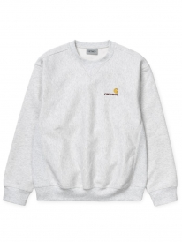 Carhartt WIP American Script Sweater (ash heather)