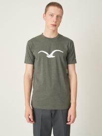 Cleptomanicx Möwe T-Shirt (heather dusty olive)