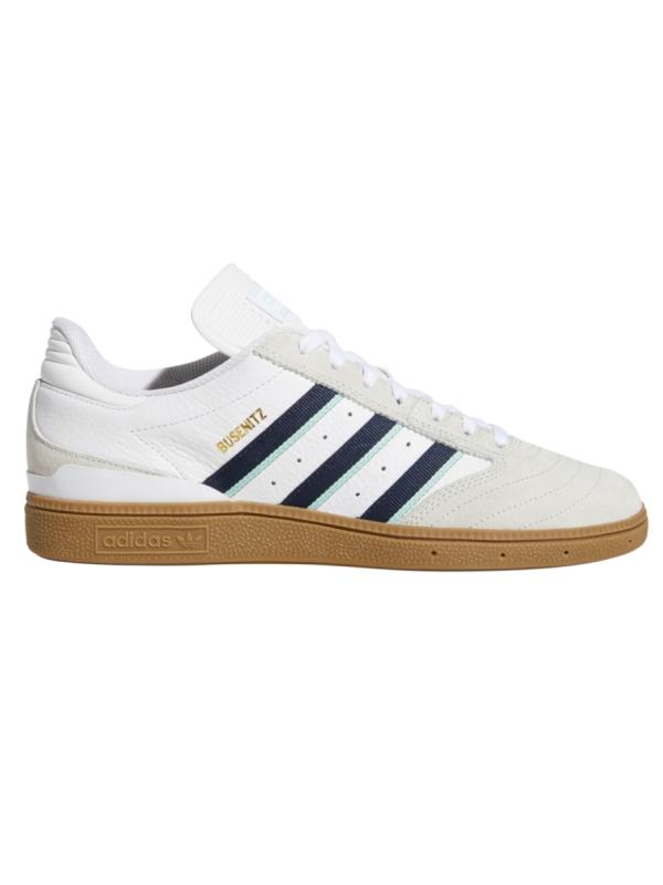 Adidas Busenitz (white/collegiate burgundy/clear mint)