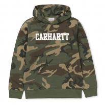 Carhartt WIP College Hoodie (camo laurel/white)