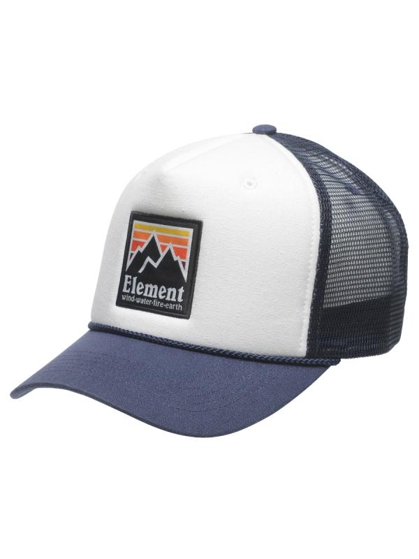 Element Peak Trucker Cap (indigo)