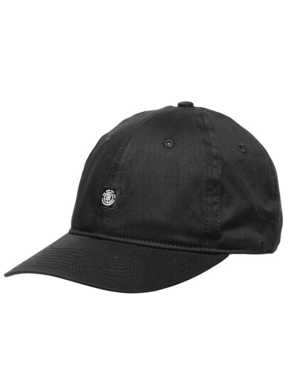 Element Fluky Dad Cap (all black)