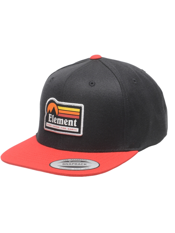 Element Trekker Cap (flint black)