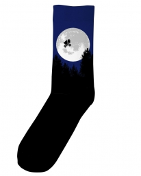 Dedicated ET Moon Socken (black)