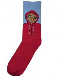 Dedicated Extra Terrestrial Socken (red)