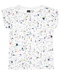 Dedicated Visby Terazzo T-Shirt (white)