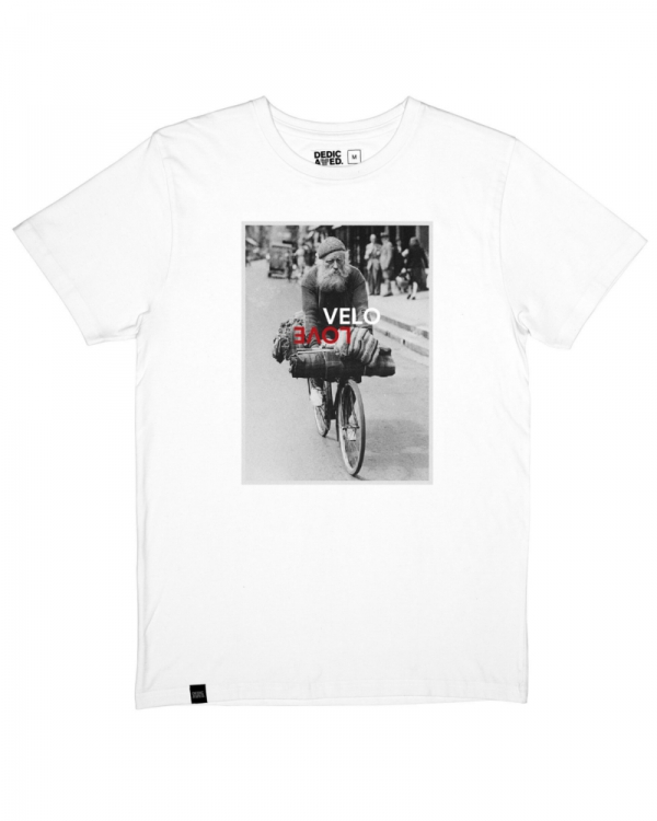 Dedicated Stockholm Velo Love T-Shirt (white)