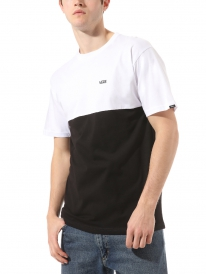 Vans Colorblock T-Shirt (dress blues/white)