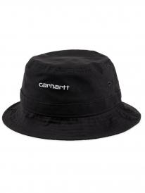 Carhartt WIP Script Bucket Hat (black/white)