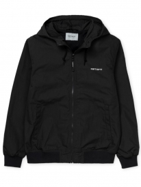 Carhartt WIP Marsh Jacke (black/white)