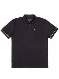 Brixton Carlos Polo T-Shirt (black)