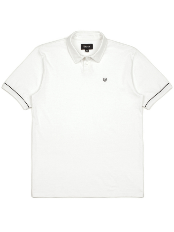 Brixton Carlos Polo T-Shirt (white)