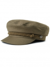 Brixton Fiddler Cap (military olive)