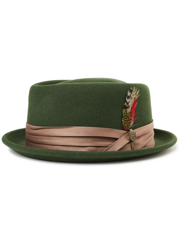 Brixton Stout Hat (moss/bronze)