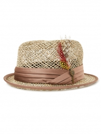 Brixton Stout Straw Hat (tan)