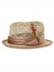 Brixton Stout Straw Hat (tan)