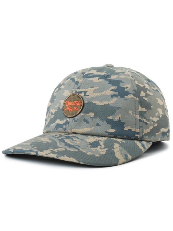 Brixton Wheeler Curved Cap (digi tiger camo)