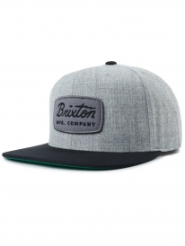Brixton Jolt Cap (heather grey/black)