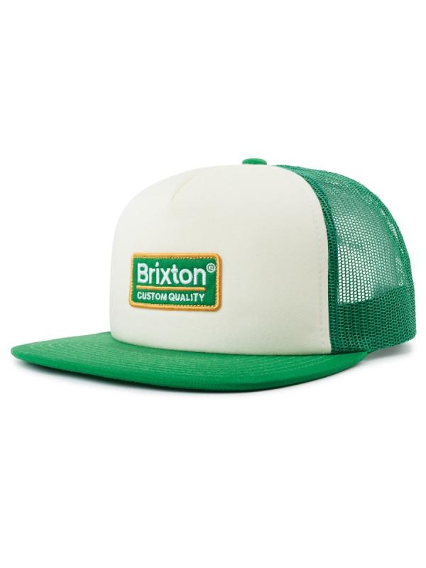 Brixton Palmer Mesh Cap (off white/clover)