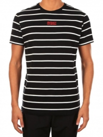 Iriedaily Lone Stripe T-Shirt (black)