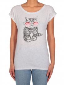 Iriedaily Iriecat T-Shirt (white melange)