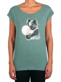 Iriedaily Koala Bubble T-Shirt (dark beryl)