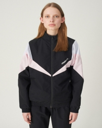 Cleptomanicx Track Jacket 2 (black)
