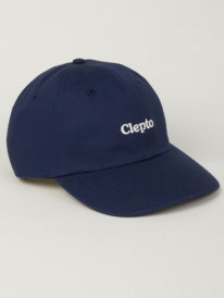 Cleptomanicx Clepto Dad Cap (dark navy)