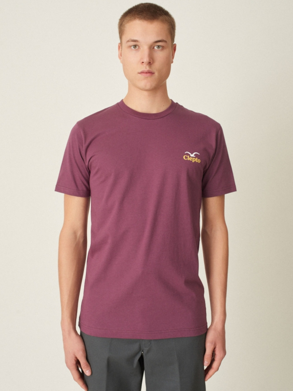 Cleptomanicx Pong T-Shirt (crushed violets)
