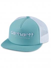 Carhartt WIP Trucker Cap (soft aloe/white)