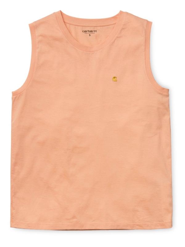 Carhartt WIP W Chase A-Shirt (peach/gold)
