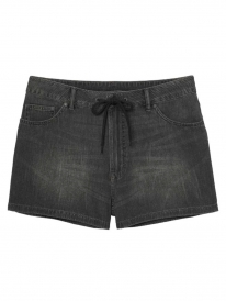 Cheap Monday Streak Shorts (crinkle black)