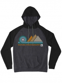 Hippytree Aperture Hoodie (heather charcoal)