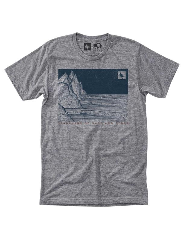 Hippytree Nightbreak T-Shirt (heather grey)