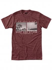 Hippytree Outlier T-Shirt (heather rust)