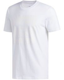 Adidas Solid Blackbird T-Shirt (white/white)
