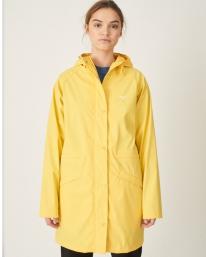 Cleptomanicx Greta Rain Jacke (yellow)