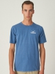 Cleptomanicx CI Möwe T-Shirt (blue)