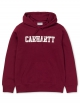Carhartt WIP College Hoodie (mulberry/white)