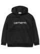 Carhartt WIP W Sweat Hoodie (black/white)