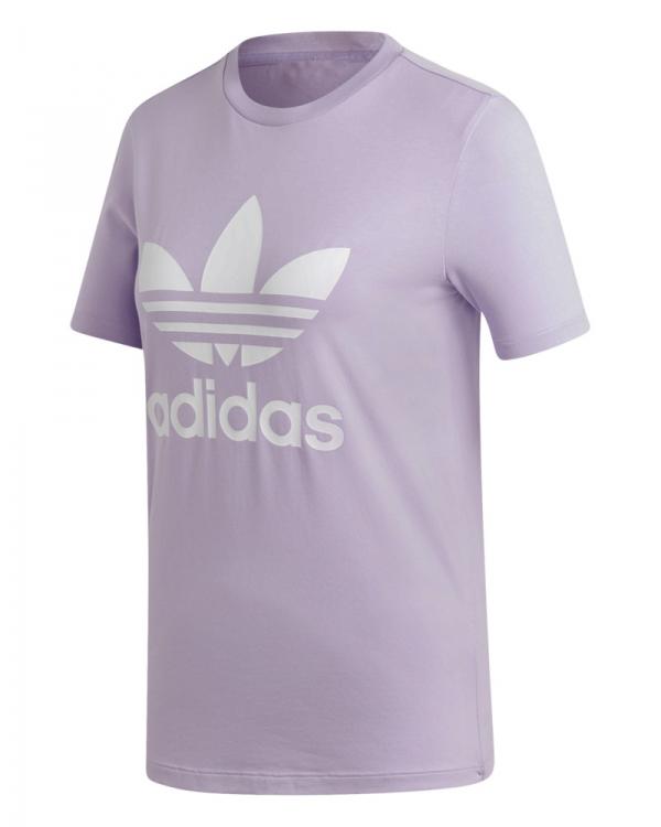 Adidas Trefoil T-Shirt (purple glow)