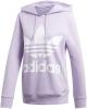 Adidas Trefoil Hoodie (purple glow)