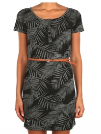 Iriedaily La Palma Dress (black-anthra)