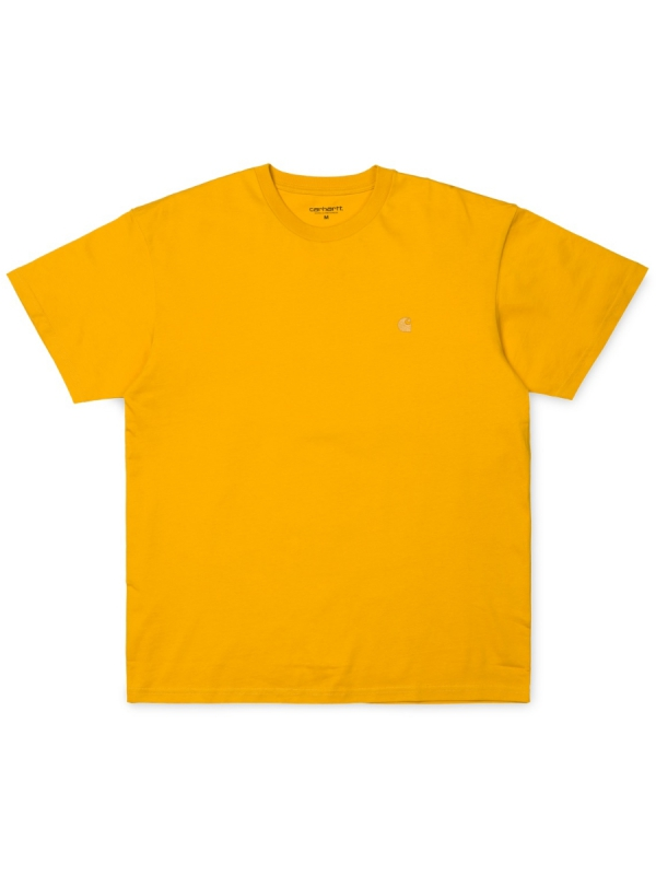 Carhartt WIP Chase T-Shirt (quince/gold)