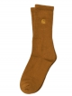 Carhartt WIP Chase Socken (hamilton brown/gold)